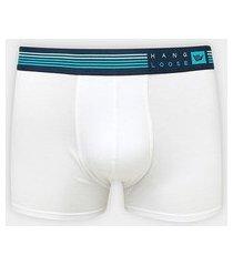 cueca boxer hang loose modal elástico bordado listras