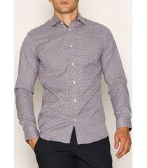 selected homme slhslimnew-mark shirt ls b noos skjortor white