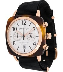 briston watches clubmaster classic 40mm watch - white