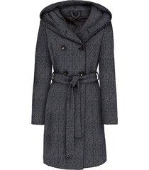 cappotto corto in misto lana (nero) - john baner jeanswear