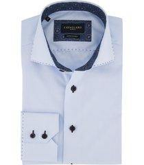 cavallaro overhemd lichtblauw