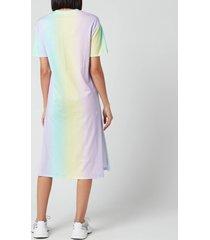 olivia rubin women's beanie dress - pastel tie dye - m