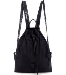 mochila kody drawstring backpack negro guess