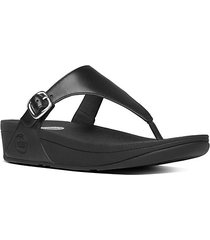 the skinny tm leather thong sandals