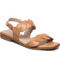 a-1403 shoes summer shoes flat sandals beige wonders
