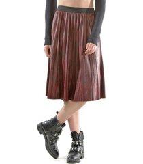 falda italiana ecocuero burdeo bous