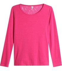 camiseta blonda en espalda color rosado, talla 10