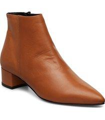 alba shoes boots ankle boots ankle boot - heel brun jennie-ellen
