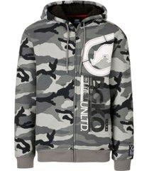 ecko unltd men's upside full zip thermal sherpa hoodie
