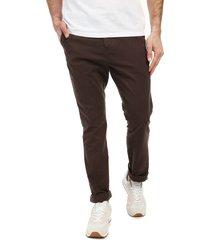 pantalón café colore