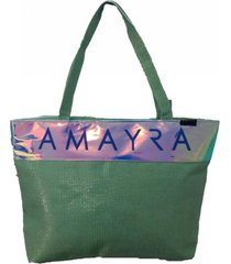 bolso  verde amayra verde