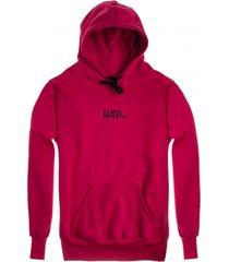 bluza hoodie classic carmin