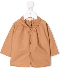 caramel westminster buttoned shirt - neutrals
