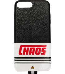 chaos reflective logo iphone 7+/8+ case - black