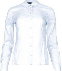 basic blouse maxime  lichtblauw