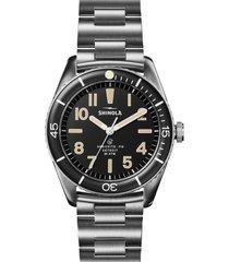 shinola duck bracelet watch gift set, 42mm