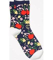 loft fruit crew socks