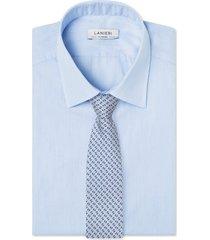 cravatta su misura, lanieri, genova seta argento, quattro stagioni | lanieri