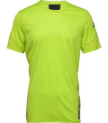 25/7 tee runr t-shirts short-sleeved gul adidas performance