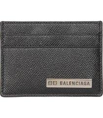 balenciaga branded card holder