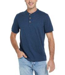 men's melange henley t-shirt