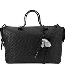 medium kyla leather satchel bag