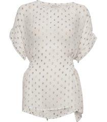 dafna blouses short-sleeved crème masai