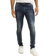 jeans super skinny elevate clvb denim guess