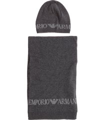 emporio armani ardor 7 hat and scarf