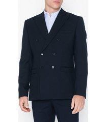 selected homme slhslim-high db navy blazer b kavajer & kostymer mörk blå