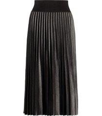 agnona pleated knitted skirt