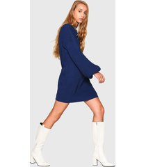 vestido glamorous azul - calce holgado