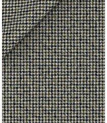 pantaloni da uomo su misura, vitale barberis canonico, flanella pettinata pied de poule grigia, autunno inverno | lanieri