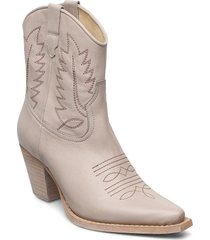 hara shoes boots ankle boots ankle boot - heel grå re:designed est 2003