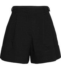 damapana shorts flowy shorts/casual shorts svart by malene birger