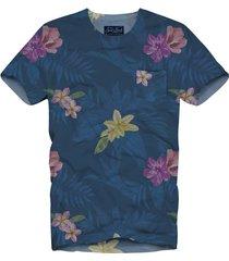 flowers print mans t-shirt