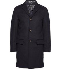 3 in 1 wool coat wollen jas lange jas blauw tommy hilfiger tailored