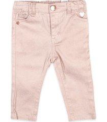 pantalón brillos rosado pillin