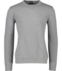 hugo boss sweater grijs ronde hals