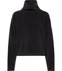 fleece sweatshirt sweat-shirt tröja svart filippa k soft sport
