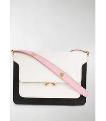 marni medium bi-colour trunk shoulder bag