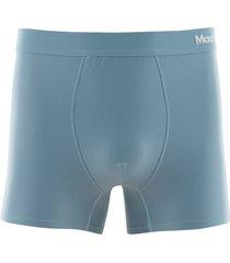 cueca boxer microfibra risca de giz - azul - masculino - dafiti