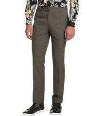 paisley & gray slim fit suit separates dress pants taupe