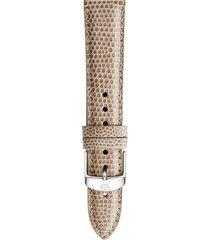 women's michele 16mm lizardskin watch strap