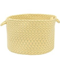 colonial mills montego braided storage basket
