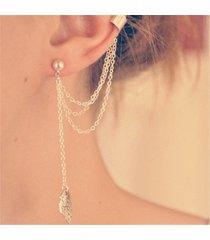 orecchini pendenti con orecchini a goccia singoli vintage orecchini a catena con gemme a foglia orecchini pendenti pandant per donna