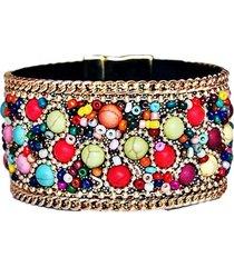 pulsera diosa shakti multicolor viva felicia