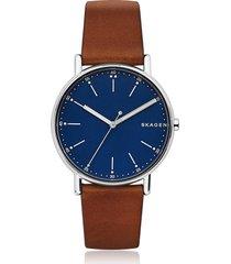 skagen designer men's watches, signatur stainless steel men's watch