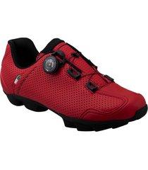 zapatillas rossetti mtb rojo