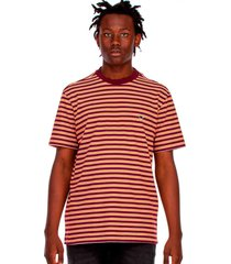 camiseta lost fio tinto jobless - vermelho - masculino - dafiti